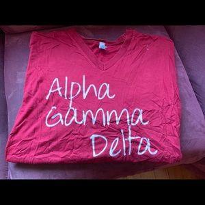 Alpha Gamma Delta AGD Sorority T-Shirt